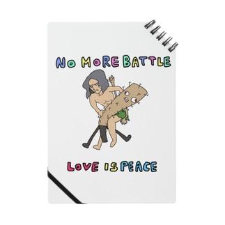 野水伊織 作『LOVE IS PEACE』 Notes