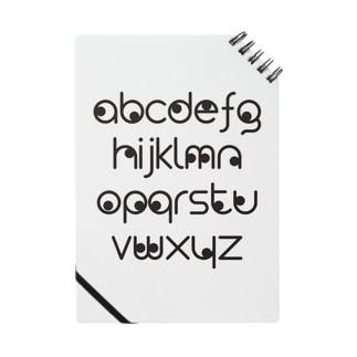 覗き見アルファベット Notes