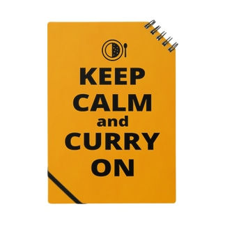 KEEP CALM AND CURRY ON Notes