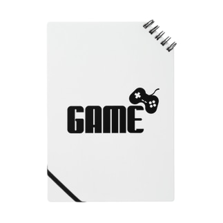 GAMEロゴ黒 Notes