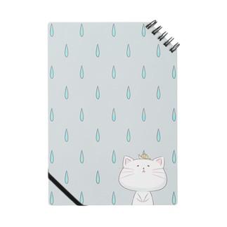 雨の日のしらたまくん(青) ノート