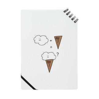 くも + コーン = アイス? Notes
