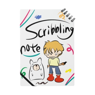 scribbling note Notes