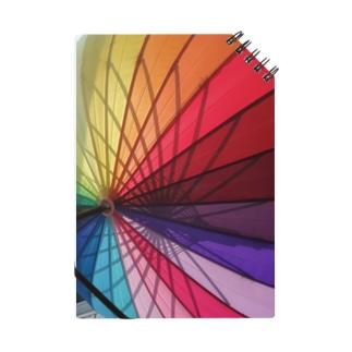 Colorful Umbrella Notes