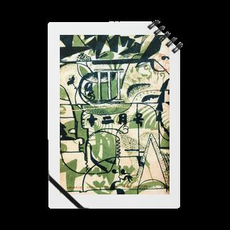 變電社の『エポック』 第3號(1922年12月)玉村善之助 カバーデザイン ノート