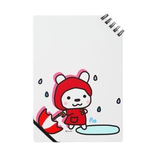 しゅしゅの雨降りお散歩  ノート