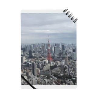 高台から眺める東京タワー Notes