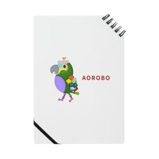 ねこぜや のROBOBO アオボウシインコ Notes