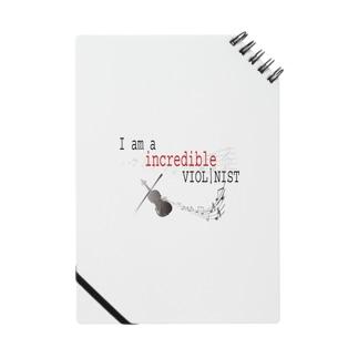 インクレディブル ヴァイオリニスト Notes