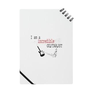 インクレディブル ギターリスト Notes