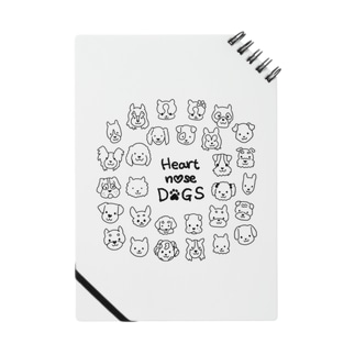 Heart nose DOGS(丸型) Notes