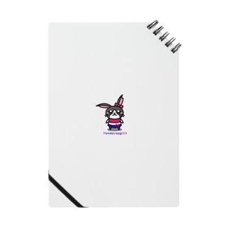 P.U Shopの【P.U】 PandaUsagiちゃん Notes