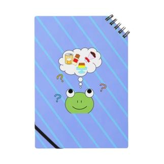 かえるさんパパのショッピング Notes