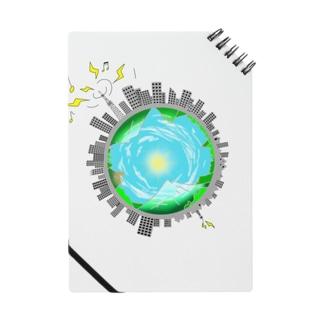 さっぱり可愛く地球っぽく Notes