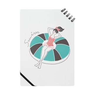 yuki illustrationのSWIM GIRL Notes