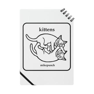 kittens あそぶ子猫さん Notes
