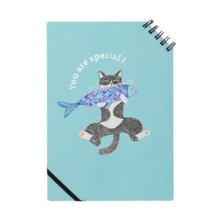 HUG♡CAT&FISH Notebook