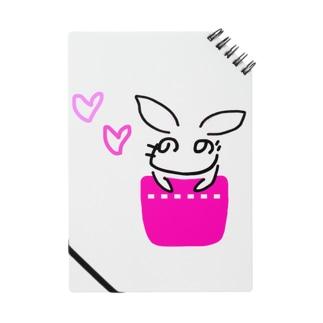 へのへの うさぎ Notebook