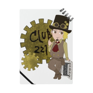 club221 オフィシャルグッズ Notes