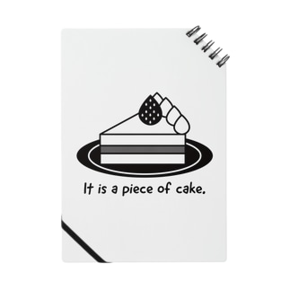 おもしろ英語表現(a piece of cake) Notes