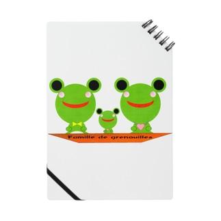 Famille de grenouilles Notes