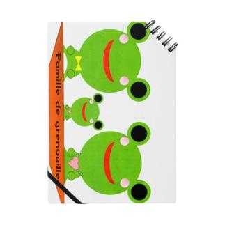 Famille de grenouilles Ⅱ Notes