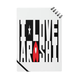 airabuwoのI Love Arashi. Notes