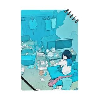 青い部屋 Notes