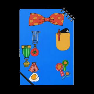屋台のえらくなれるノート(あお) Notes
