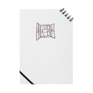 心の窓を開くねこ Notes