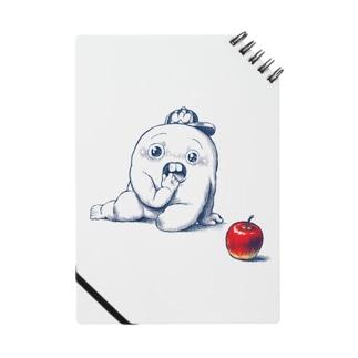 さちおくんとりんご ノート