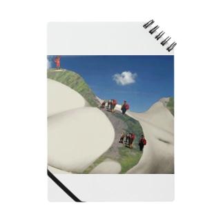 世界最高峰女体山に登頂するアタック隊 Notes