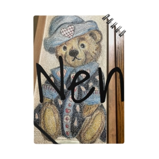 Nene Miyamuraのうちの部屋の壁に書いたくまさんグッズ Notes