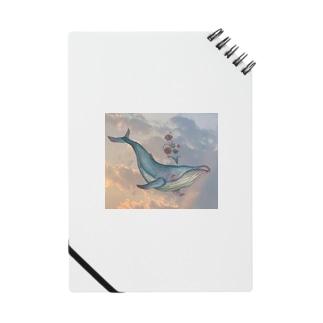 晴れた空から彩を晴らすクジラ Notes