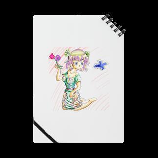 hujiyamakenjiのお花ガール Notes