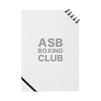ASB BOXING CLUBのオリジナルアイテム! ノート