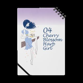 tomokomiyagamiのCherry blossom Harp Girl ノート