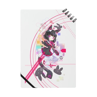 Optical fiber girl Black Notes
