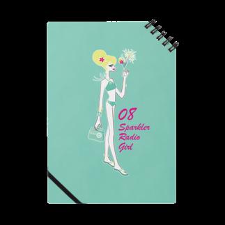 tomokomiyagamiのSparkler Radio Girl ノート