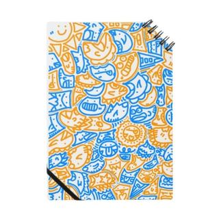 #ひま暇お絵描き 青橙ver Notes