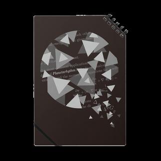 理の惑星のPlanetarhythm notebookノート
