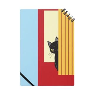チラッと黒猫 ノート