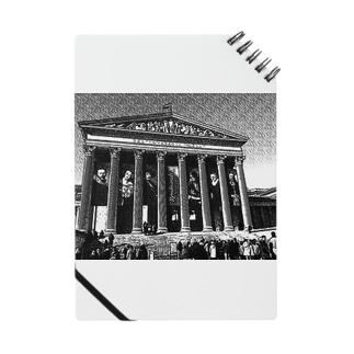 ハンガリーの国立美術館(デッサン風) Notes