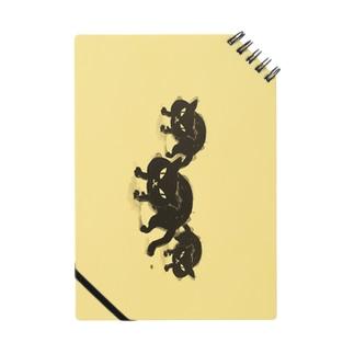 黒猫ちゃん(黄色バック) Notes
