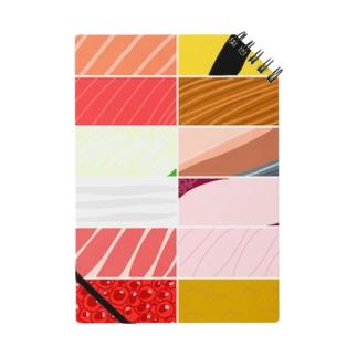 寿司カラーパターン Notes