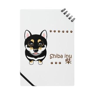 柴犬 黒柴 長方形 ABCDOGS Notes