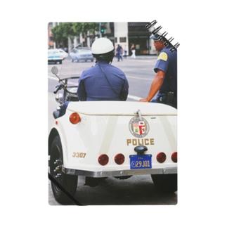 アメリカ:ロサンゼルス市警のパトロール U.S.A.: Policemen of Los Angels Notes