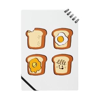 いろんなトースト Notes