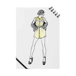 """Yellow"" いけじょファッショニスタ ノート"