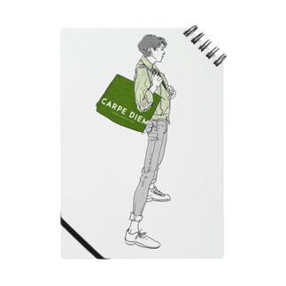 """""""Green"""" いけめんファッショニスタ ノート"""